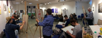 Robin Rutherford life drawing workshop