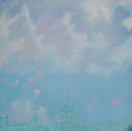 Hazy St Pauls Cathedral  Robin Rutherford