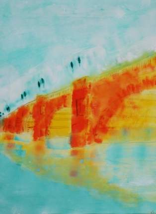 Kingston Bridge sunlit Robin Rutherford