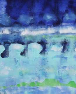 Kingston Bridge abstract Robin Rutherford