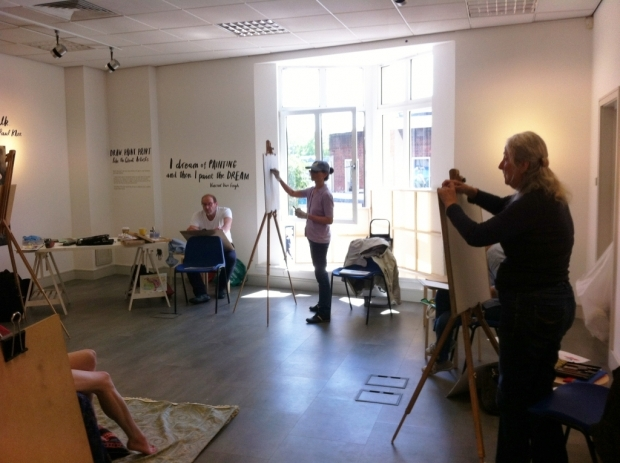 Life drawing workshop - Robin Rutherford